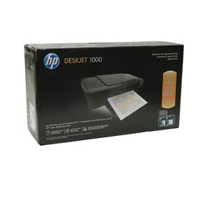 Impresora Hp-1000 Sin Cartuchos 100% Funcional