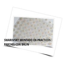 1000 Cristales Swarovski Con Parche Micropore, Acupuntura