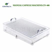 Encapsuladora Manual Acrílico 400 Capsulas Medida # 4