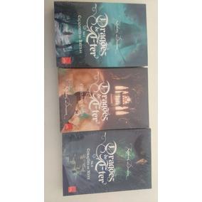 Livros Da Coleção Dragões De Etér Vol. 1,2 E 3 Promoção