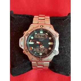 709cc07073f Relogio Citizen Aqualand Serie Prata Usado - Relógio Citizen ...