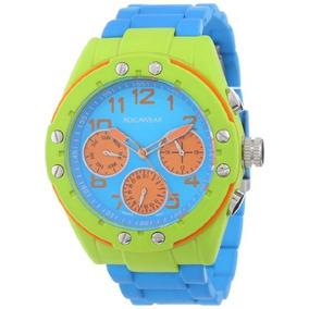 Rocawear Womens Rl0129t1-991 Stylish Bracelet Enamel Bezel W