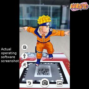 3 Cartas Anime De Realidade Aumentada 3d Naruto E Outros Kit