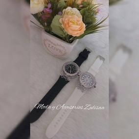 Reloj Dama Con Luz Led