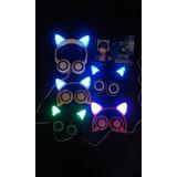 Auriculares Neko Kawaii (con Orejas De Gato Luminosas!)