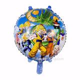 Dragon Ball Z Goku Globo Metalizado 18 Pul Vegetta 5 Piezas
