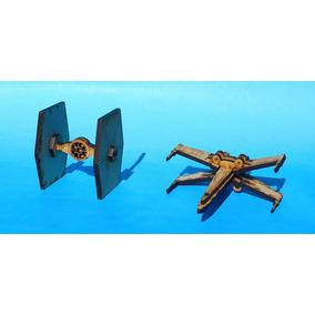 Souvenir Infantil 3d Para Armar Star Wars!! Mdf 3mm