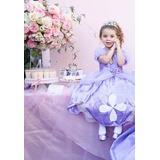 Fantasia Princesa Sofia - Infantil - Em Até 12x