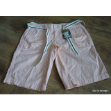 Shorts Bermudas Converse One Star A La Cadera Mujer 40