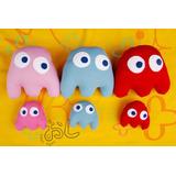 1 Mini Muñeco - Fantasma Pacman Varios Colores