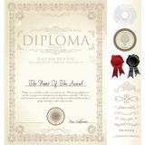 Pack De Diplomas Y Orlas Escolares Editables Con Photoshop