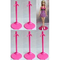 Lote Com 5 Suportes P/ Boneca Barbie * Susi * Monster High