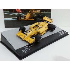 Lotus 99t Ayrton Senna Miniatura 1/43 F1 Lendas Brasil