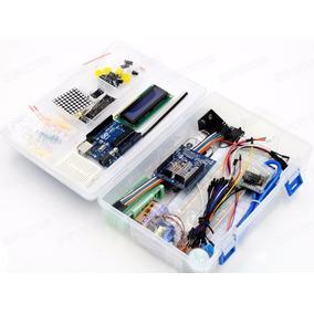 Kit Arduino Uno Principiante Con Caja Ultimate Completo Ptec