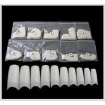 Unha Postiça Para Acrigel Nail Tips 500 Unidades Sorriso