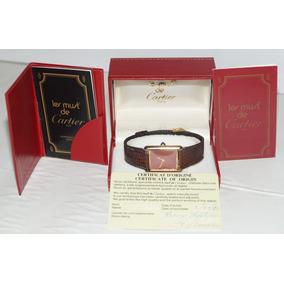 Reloj Les Must De Cartier Original Certificado