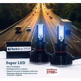 Kit Lâmpada Super Led Tech One H8 7400 Lúmens Alta Qualidade