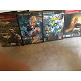 4 Juegos De Playstation 2