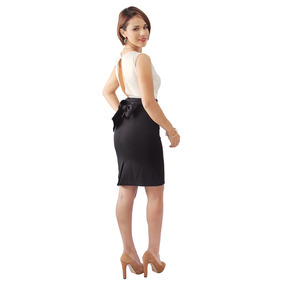 Vestido A La Rodilla Elegante Formal O Fiesta 1251