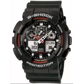 Relógio G-shok Original 5081/preto E Vermelho