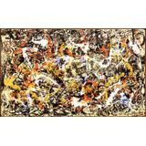 Lienzo, Jackson Pollock, Convergencia