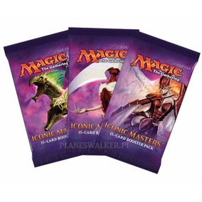 Promoção!mtg - 8x Booster: Iconic Masters Ou Eternal Masters