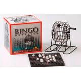 Juego De Mesa Bingo Loto Lotería Bolillero Metalico En Smile