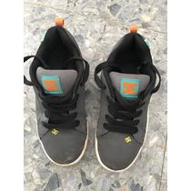 Zapatillas Dc Niño Talle Usa 5.5