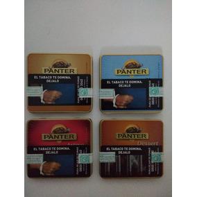 Cigarros Panter Lata X 10 Unidades En Sus 4 Variedades