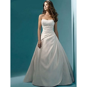 Vestido De Novia Nuevo Talla 10 Delpilar Modelo Nr 01