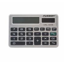 Mini Calculadora Digital Solar Tipo Folder 8 Digitos Compact