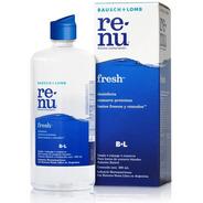 Solución Limpieza Lentes De Contacto Renu Fresh X 500 Ml