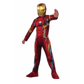 Traje Disfraz Niños Súper Héroe Iron Man Envió Gratis