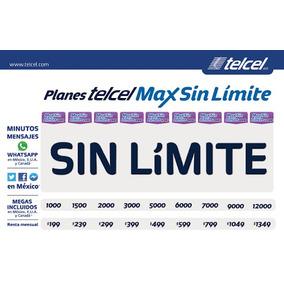 Líneas Plan Tarifario Telcel