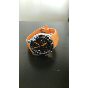 Reloj Mido Ocean Star Con Caucho Cristal De Zafiro