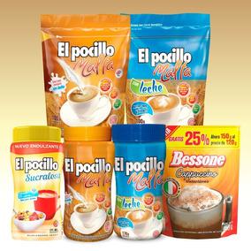 Combo Infusiones Malta El Pocillo Y Cappuccino Bessone.