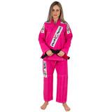 Kimono Jiu Jitsu Red Nose Top World Feminino Pink