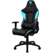 Cadeira Gamer Thunderx3 Ec3 Preta Com Azul 12x + Frete