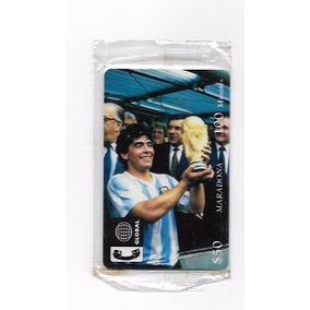 Cartao Telefonico - Importado - Maradona - No Lacre - Único