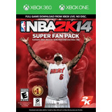 Nba 2k14 Super Fan Pack-xbox (sin Disco)