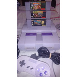 Consola Super Nintendo Snes Trilogia Donkey Kong 1, 2, 3