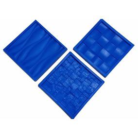 Kit 3 Moldes Grandes Silicone Gesso E Cimento 3d Lindíssimo