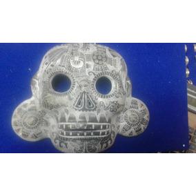 Mascara Teotihuacana De Barro, Artesania Mexicana