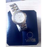 Reloj Venus Suiza Quartz Resistente Al Agua Perfecto Estado