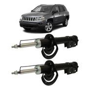 Amortecedor Dianteiro Jeep Compass 2012 2013 2014 2015 - Par