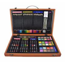 Set 80 Colores Acuarelas Dibujo Pintura Arte Dibujar Pintar