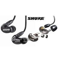 Fone De Ouvido Shure In Ear Se215 Incolor Retorno Liquidacao