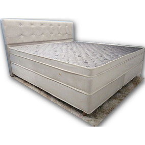 Colchão King Size E Base Box Soft Premium