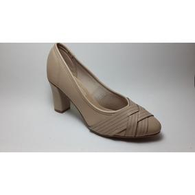 Sapato Beira Rio Conforto Bege