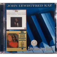 John Lewis - Fred Kaz -  Collectables Jazz Classics - Cd Imp
